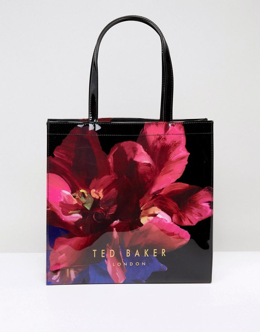 ted baker large icon bag in bloom print