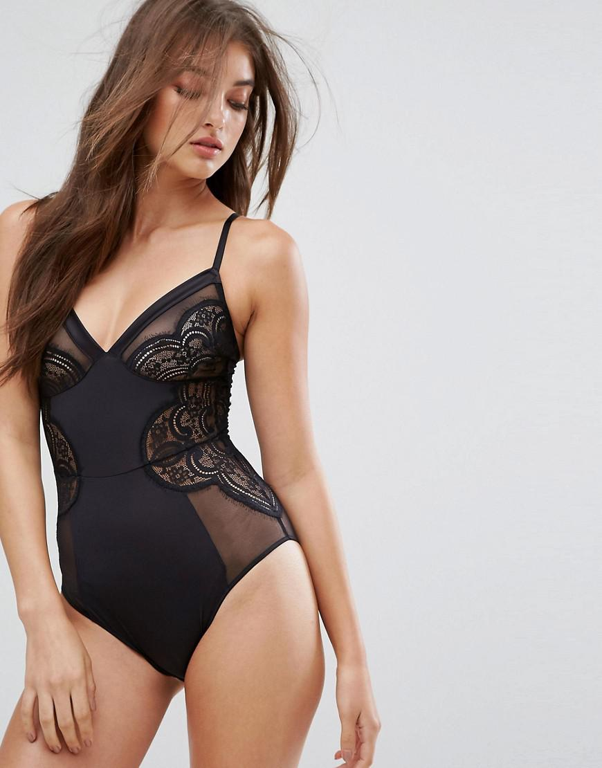 b by ted baker satin and lace body