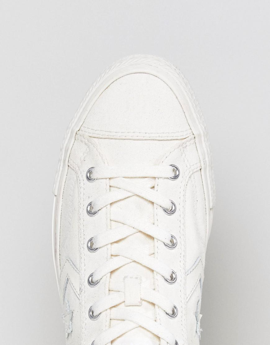 Converse Star Player Ox Sneakers In White 159809C