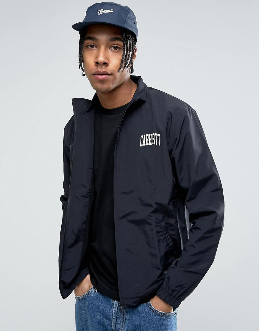 carhartt wip division script track jacket