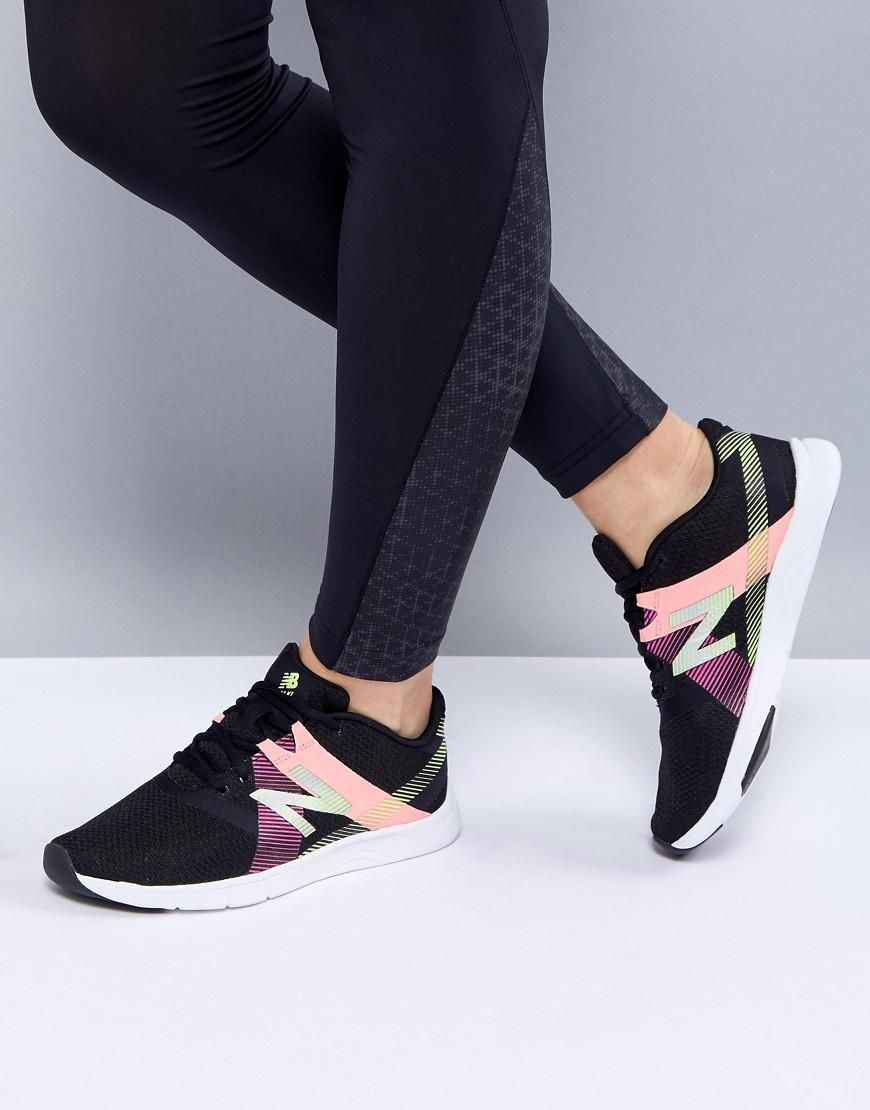 Fashion Shoes New Balance Training Trainers In Black And