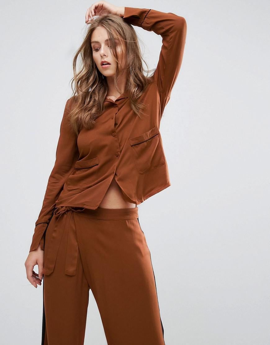 minimum pajama style shirt