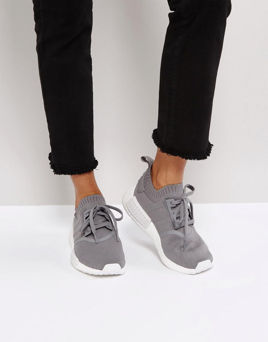 7acecbd36f8 adidas originals nmd r1 sneakers in gray