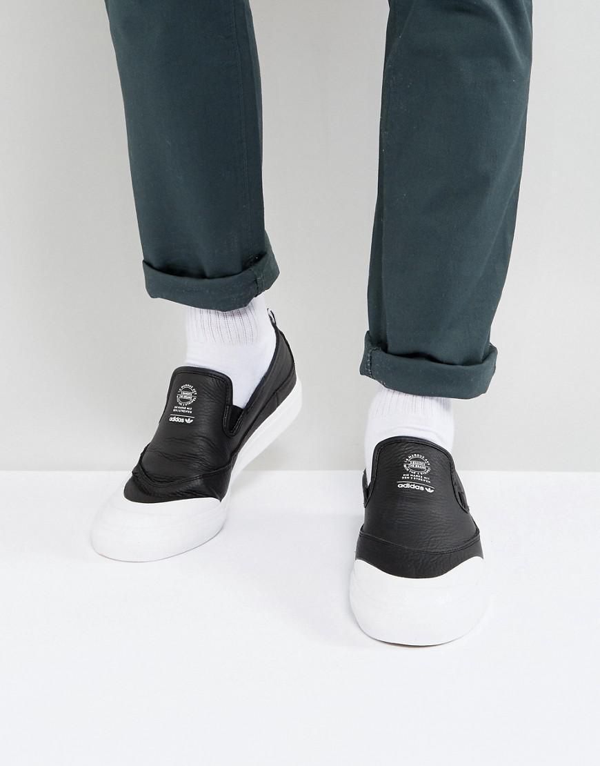 Fashion shoes   Adidas Skateboarding Matchcourt SlipOn Sneakers In ...