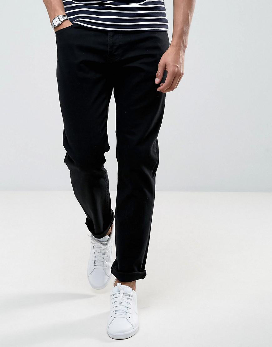 lyle & scott slim fit jeans black