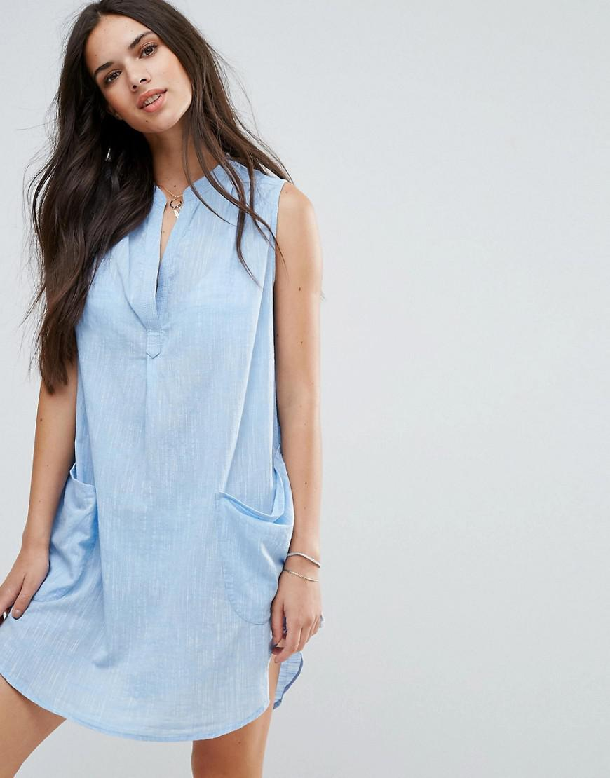 seafolly pocket front beach cover up