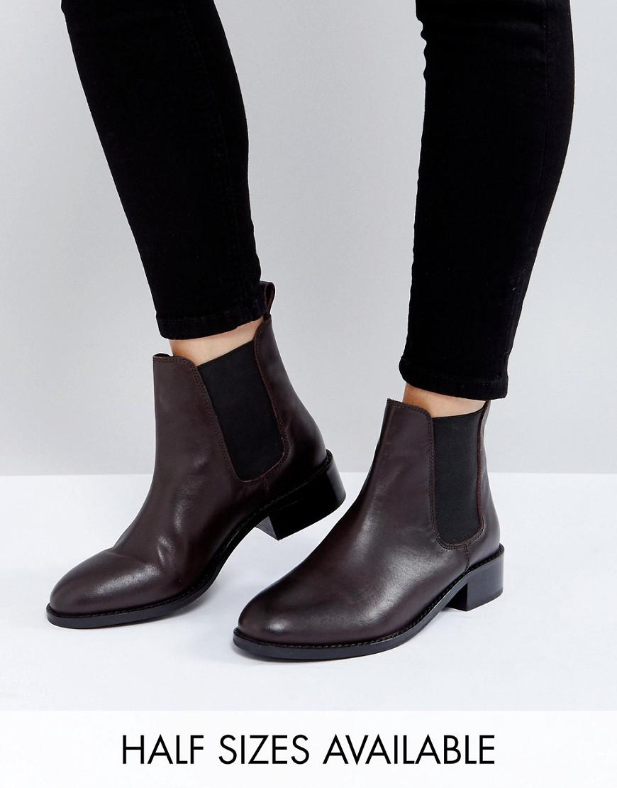 asos absolute leather chelsea ankle boots