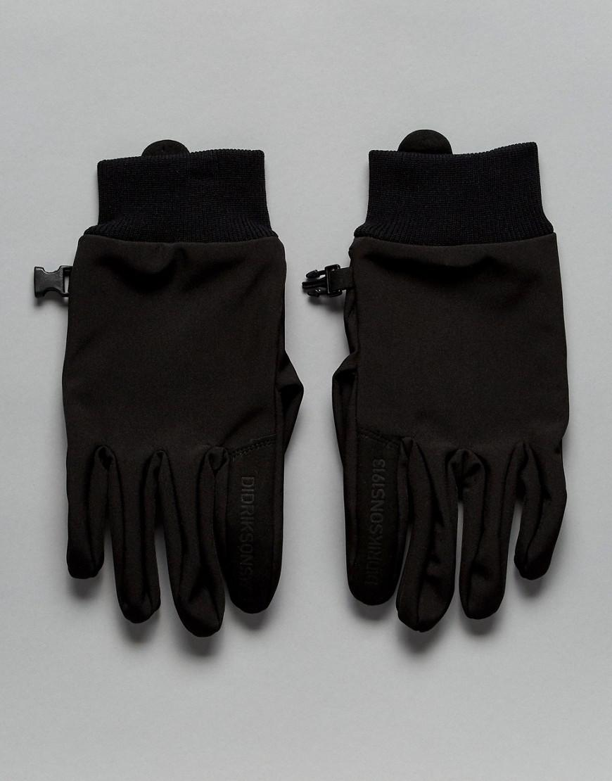 didriksons 1913 ergo gloves in black