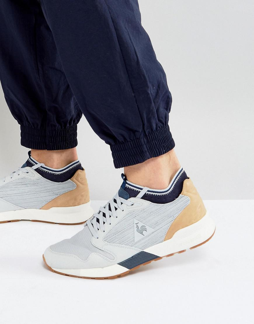 le coq sportif omicron craft sneakers in gray 1720059