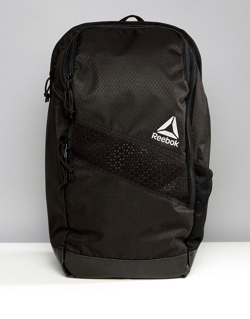 reebok training 24l backpack in black bq4775