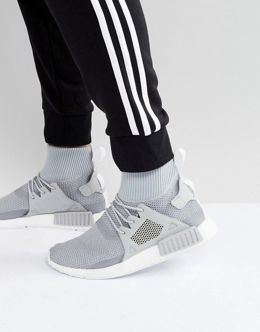 sports shoes 187ef f0615 Adidas Originals Nmd Xr1 Winter Sneakers In Gray Bz0633