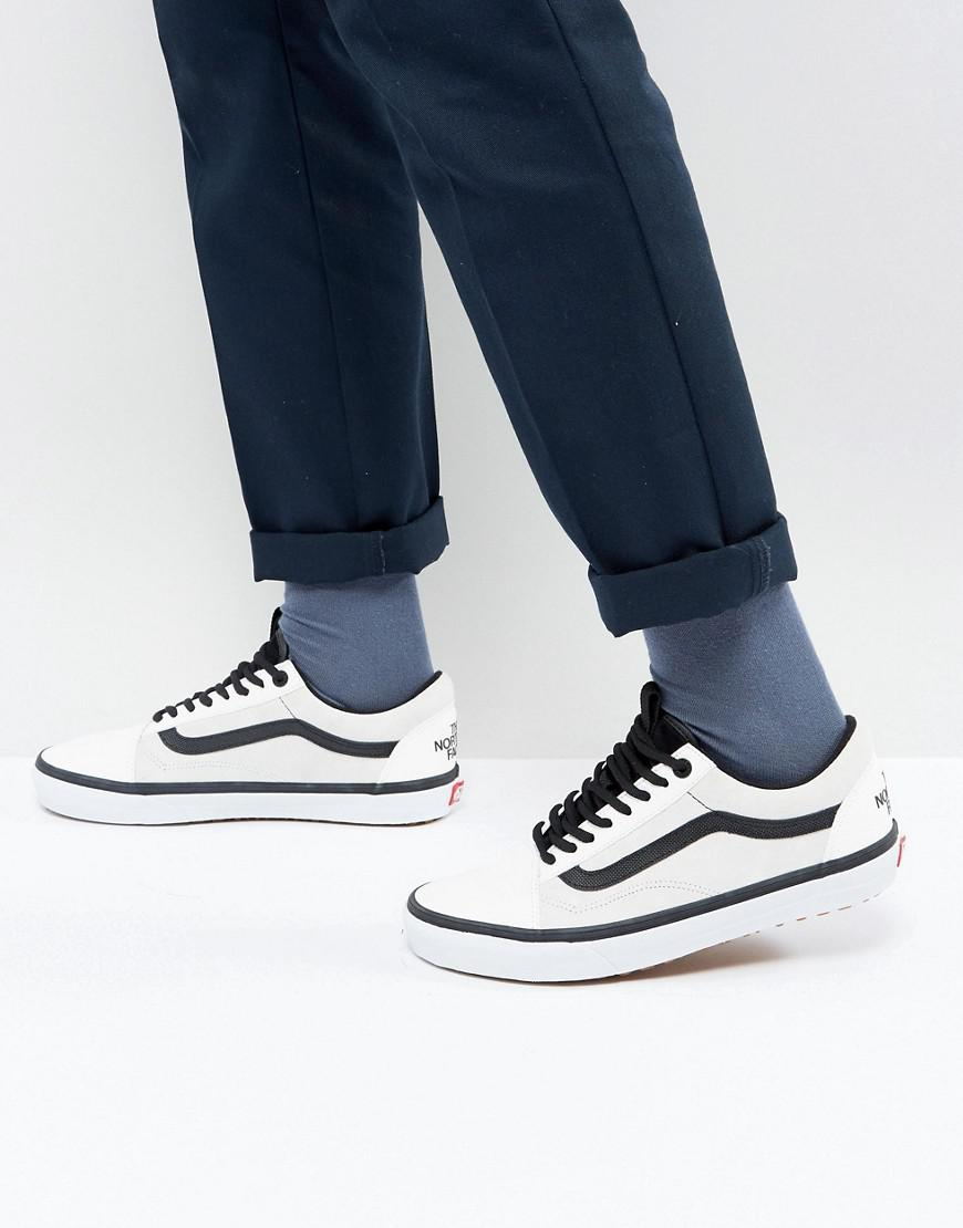 5671eb4057 vans x the north face mte dx sneakers in white va348gqwh