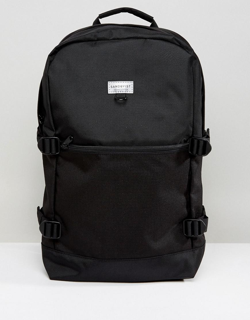 sandqvist peter backpack in cordura & eco ripstop