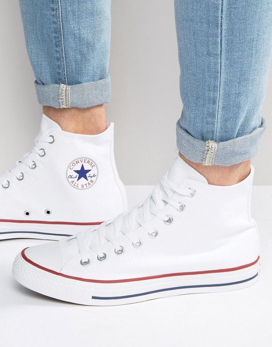nuevo concepto calidad autentica Zapatillas 2018 Fashion bags | Converse All Star Hi Plimsolls In White M7650C ...