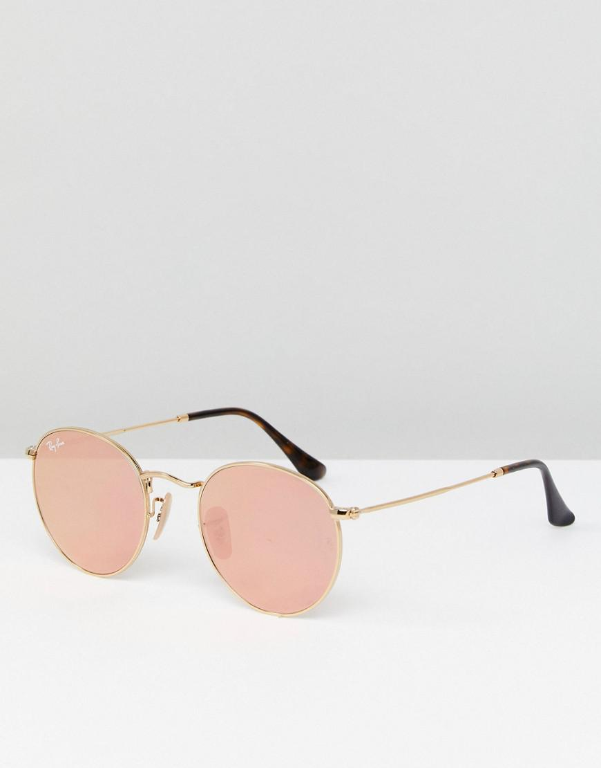 197df5ce73 Ray Ban Round Metal Gold 50mm