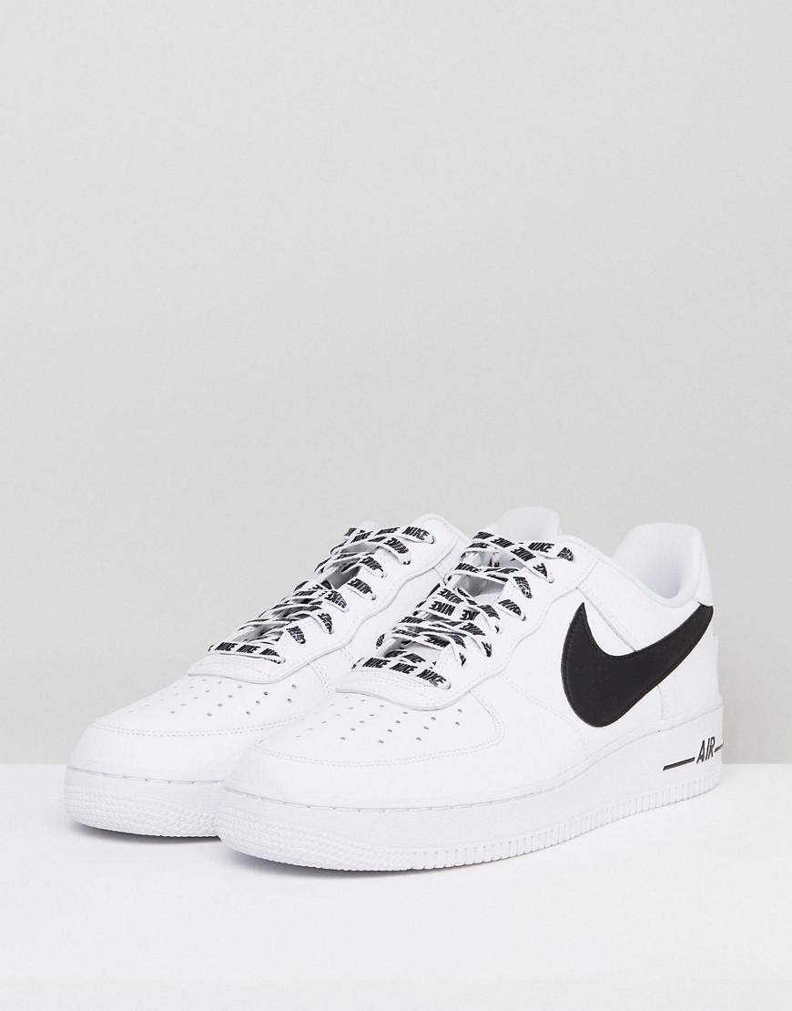 sports shoes 69dc9 235d6 Fashion shoes   Nike Air Force 1 07 Lv8 Trainers In White 823511103    Modysta