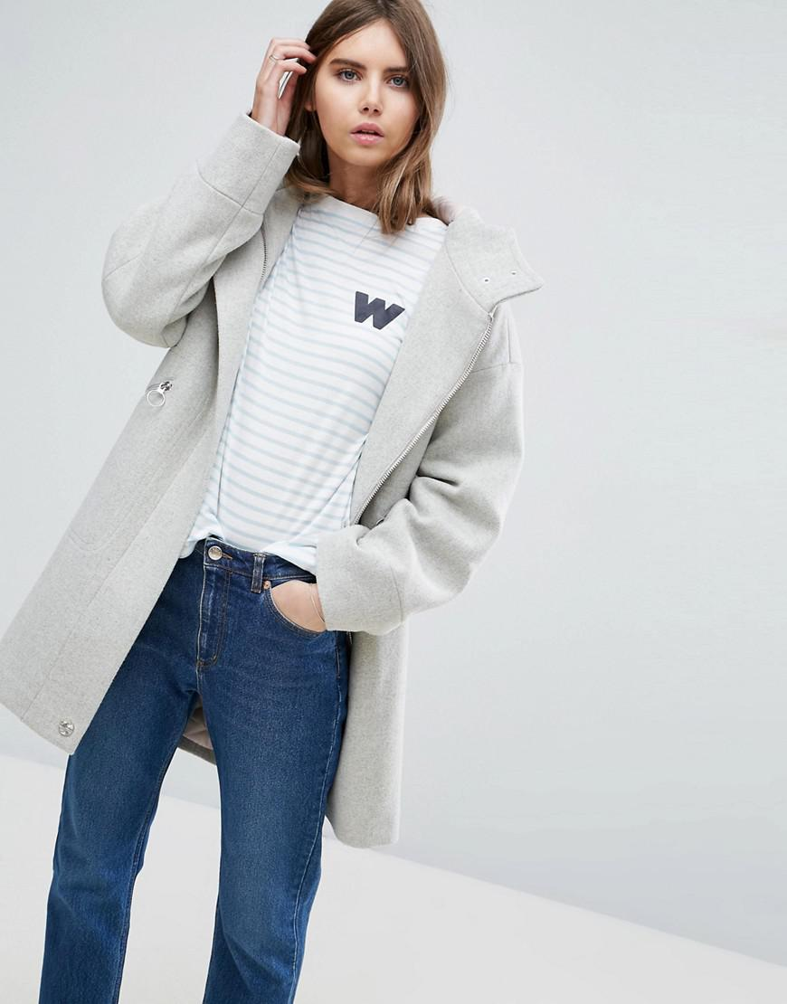 asos parka with formal styling