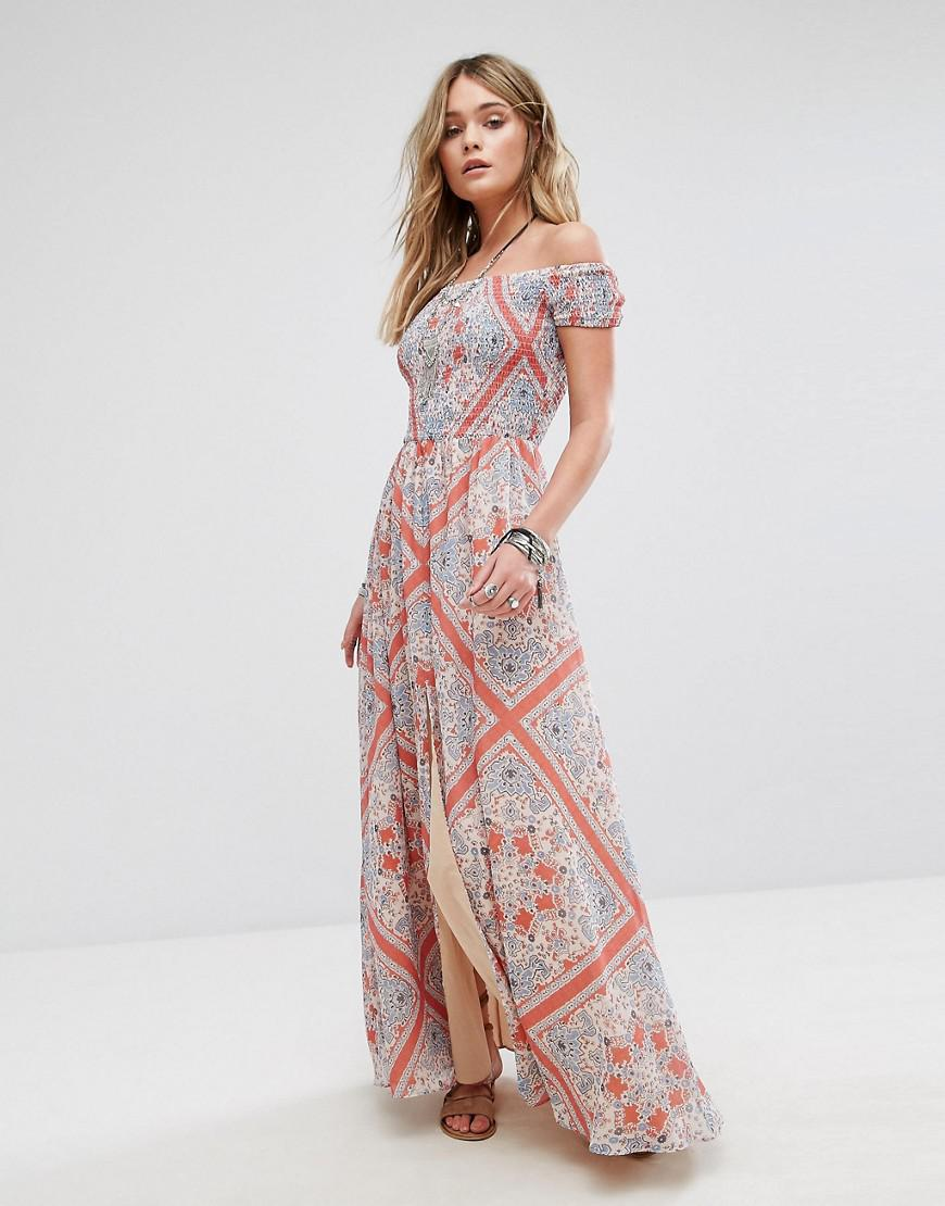 tularosa henderson maxi dress