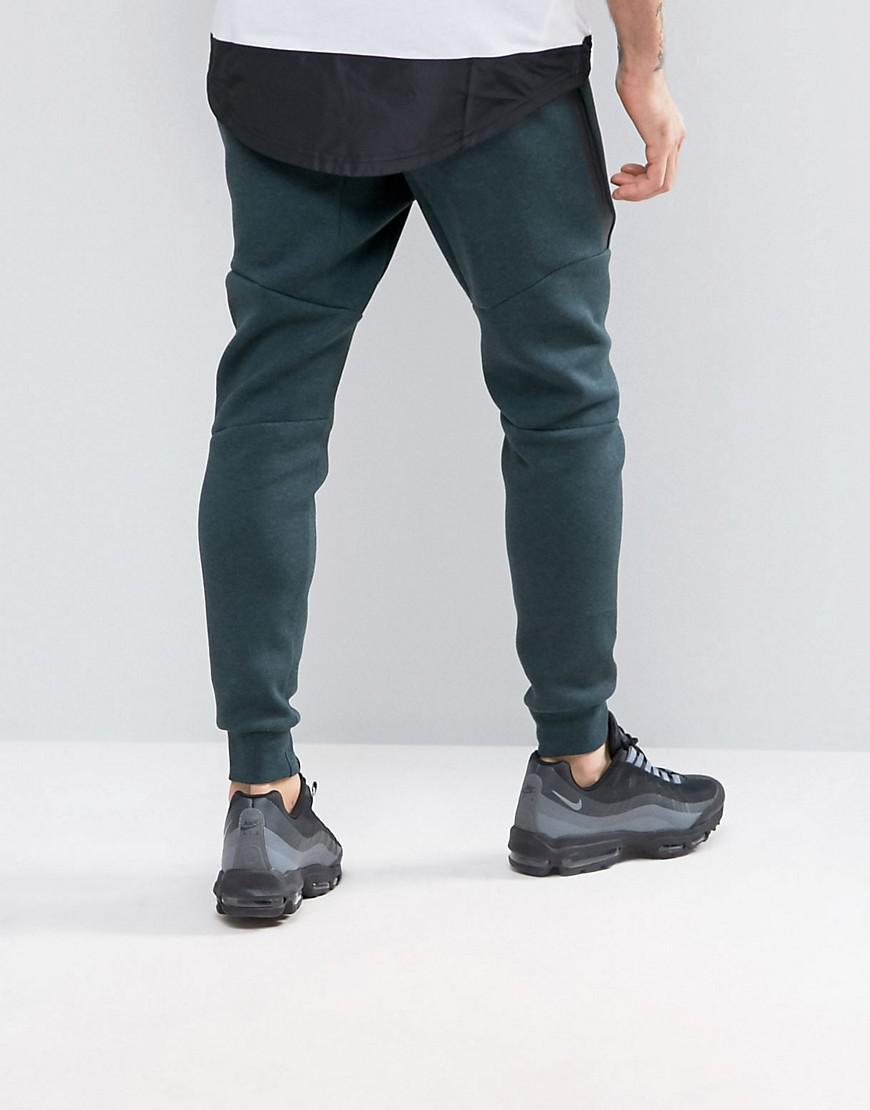 750d74fac00ad Fashion shoes | Nike Tech Fleece Skinny Joggers In Green 805162364 ...