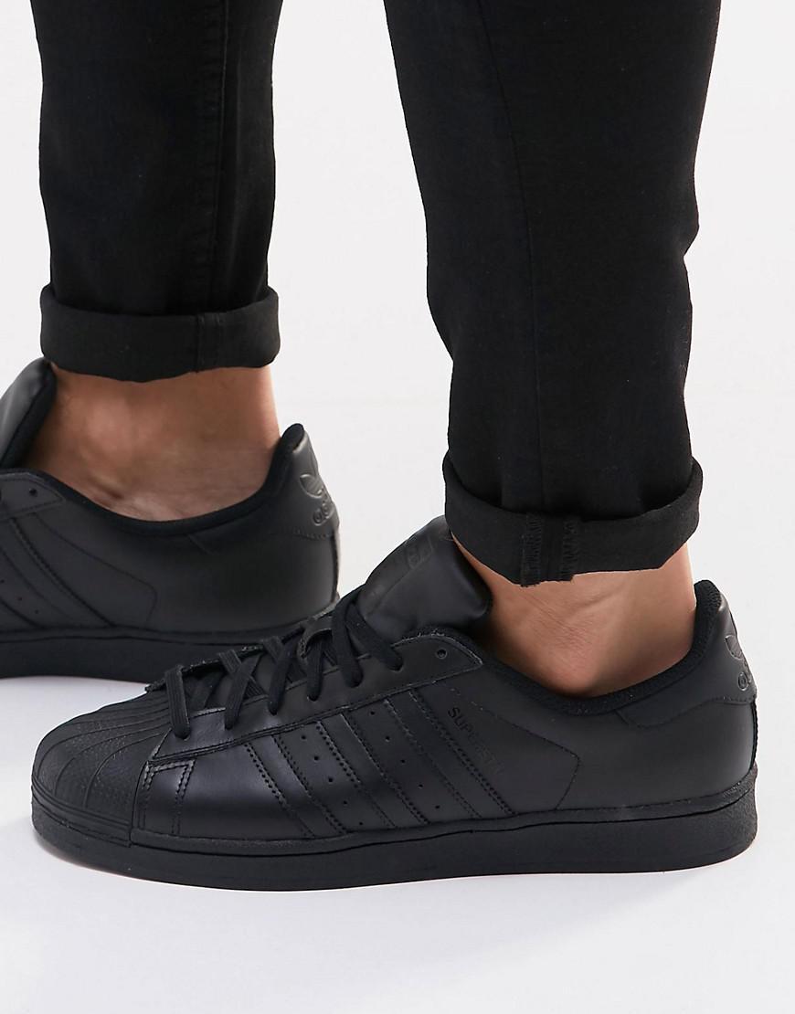 superstar total black Shop Clothing