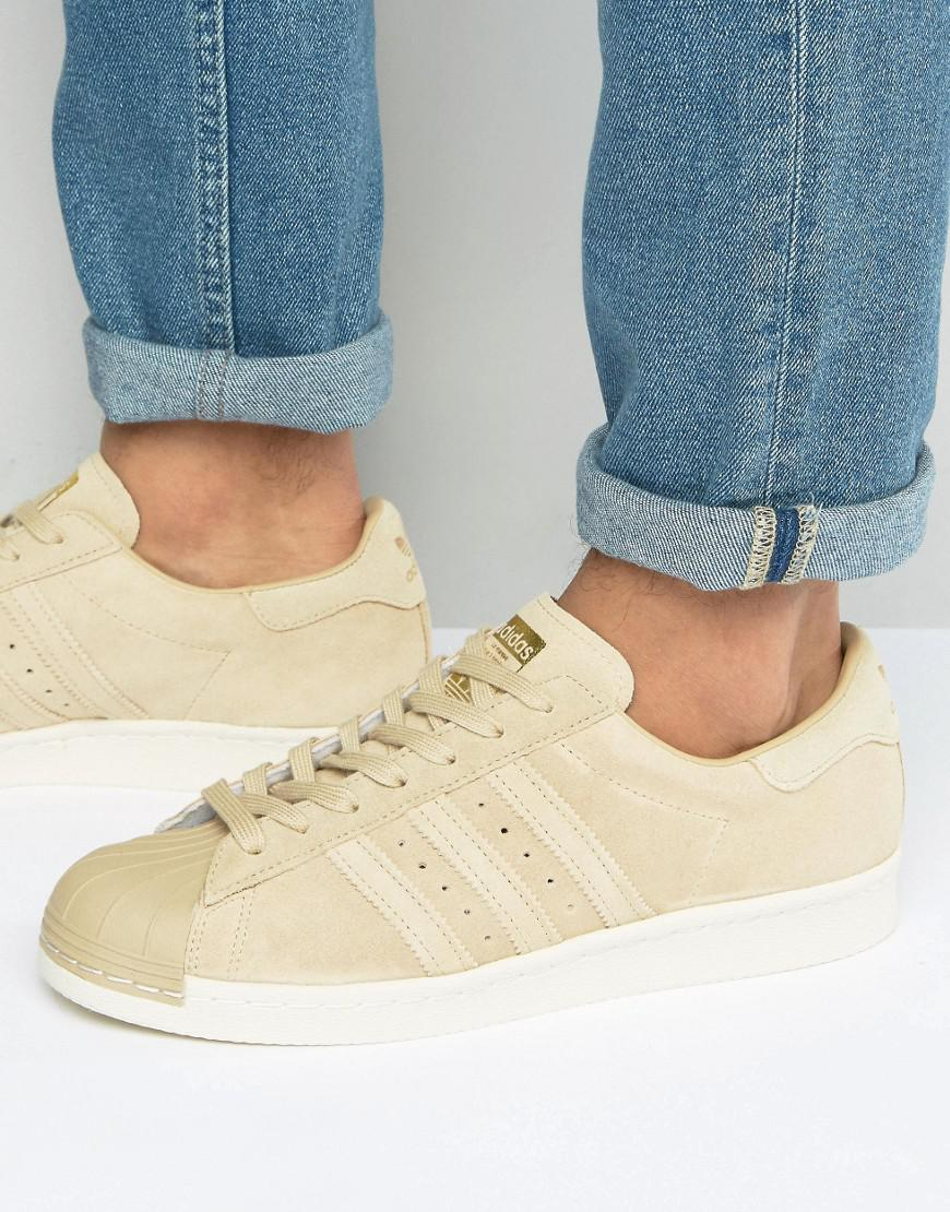 2cd0ced1ae55 Fashion shoes   Adidas Originals Superstar 80S Sneakers In Beige ...