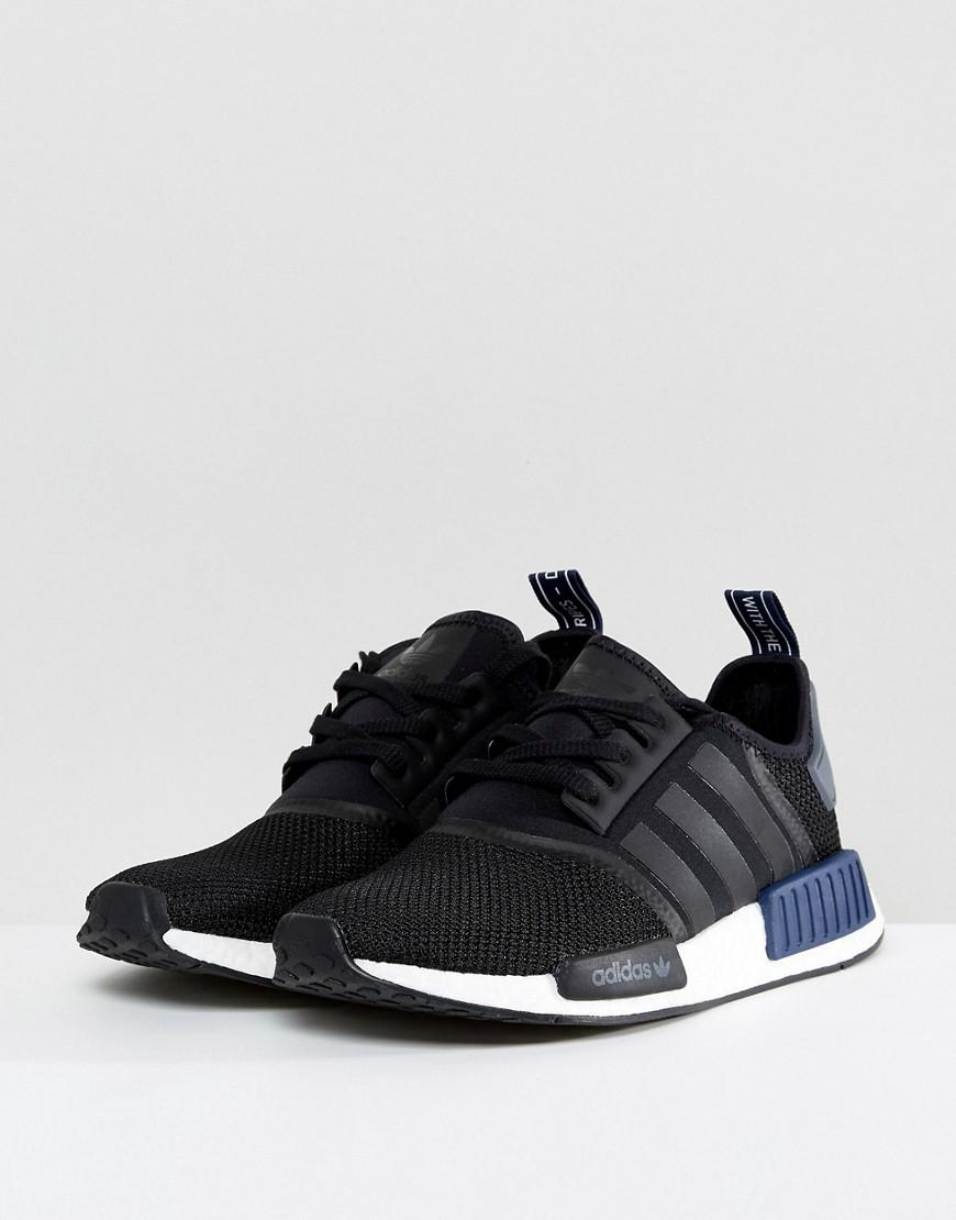 ADIDAS ORIGINALS Nmd R1 Pk Stretch Mesh Sneakers | Goxip