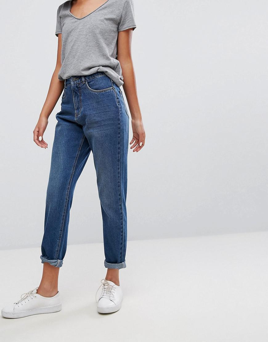 jdy high waisted mom jeans