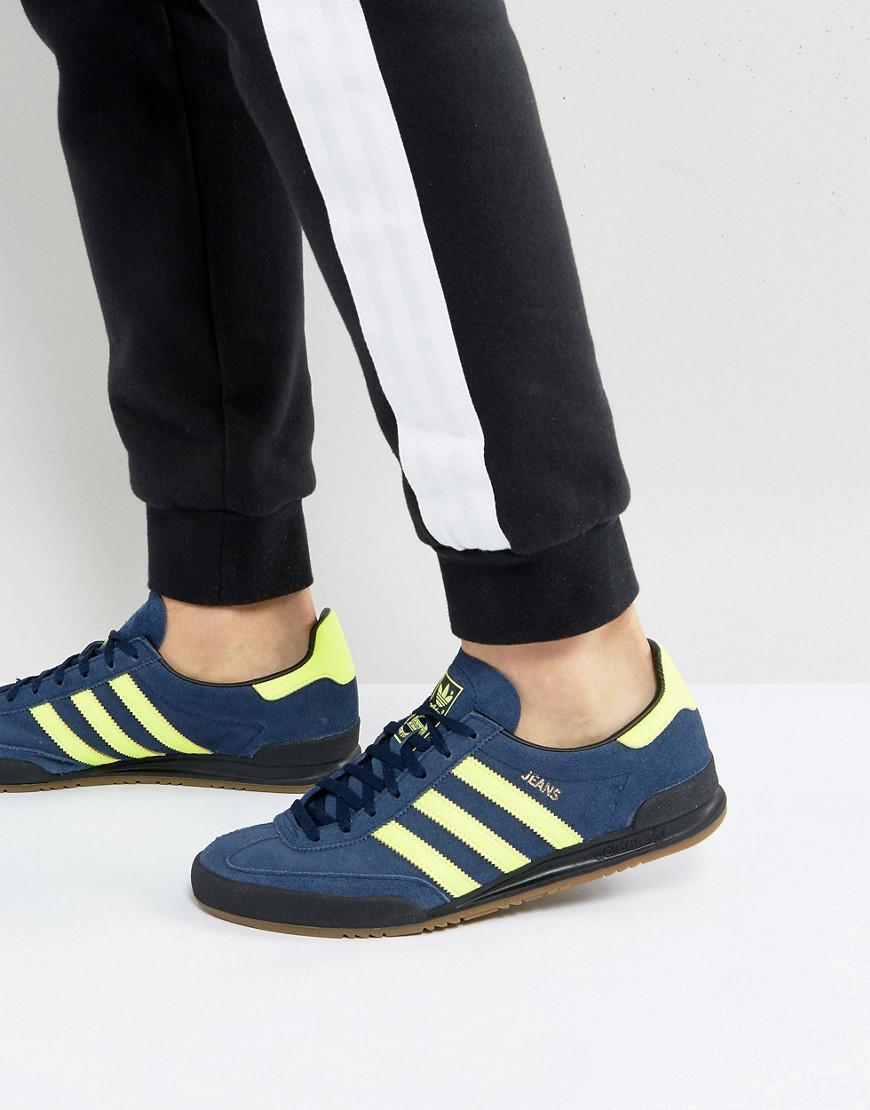 Adidas Originals Jeans Sneakers In Navy Cg3243