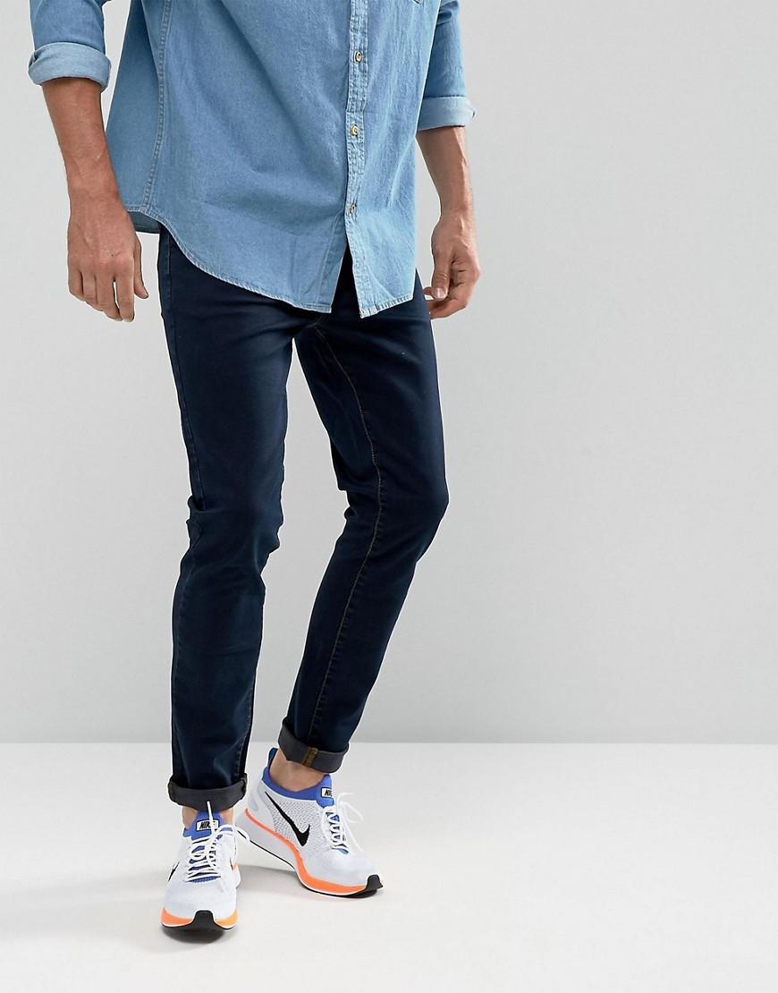 brooklyn supply co skinny fit jeans rinse wash