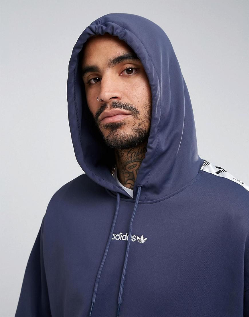 Adidas Bs4675 Adicolor In Hoodie Originals Tape Blue Tnt zSUVpM