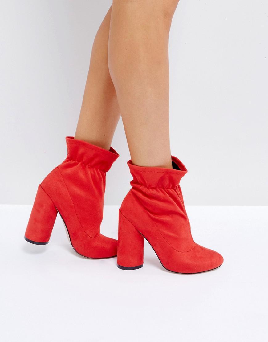 raid kloe slouched sock boots