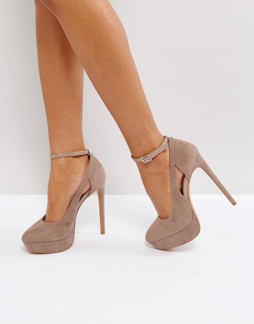 asos partyline platform heels