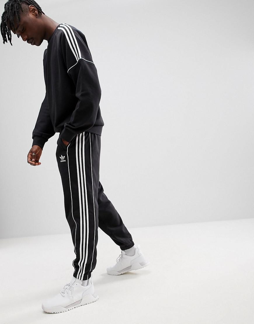 site réputé 96bd6 eb6a6 Adidas Originals Nova Retro Joggers In Black Ce4809