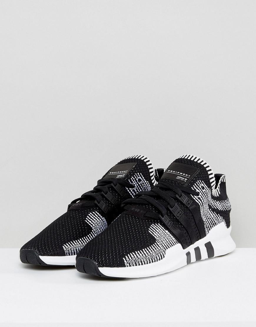 sports shoes adec2 64341 Fashion shoes  Adidas Originals Eqt Support Adv Primeknit Sneakers In Black  By9390  Modysta