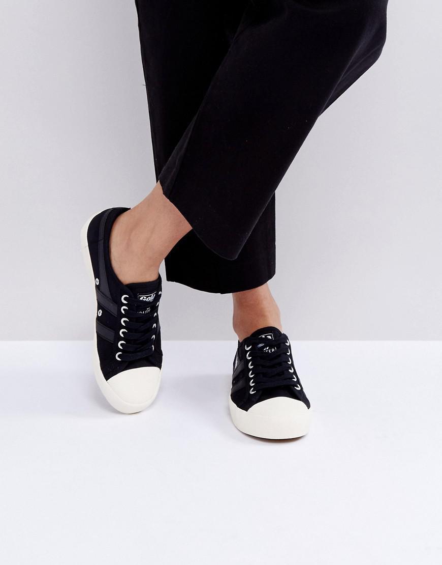 gola coaster sneakers in black