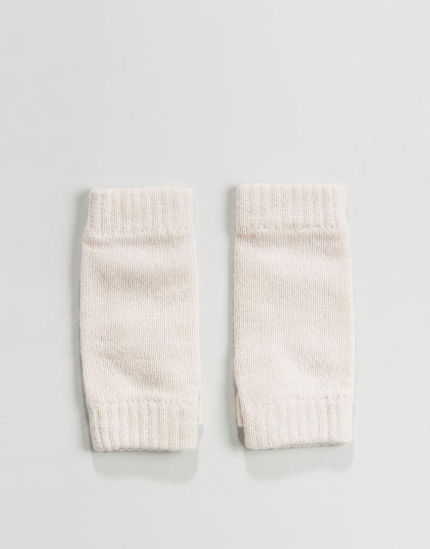 johnstons of elgin 100% cashmere excusive fingerless handwarmers