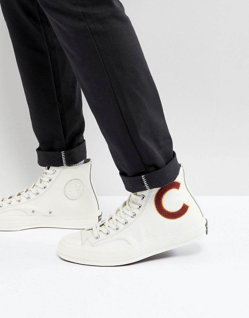 converse chuck taylor all star  70 hi sneakers in white 159679c