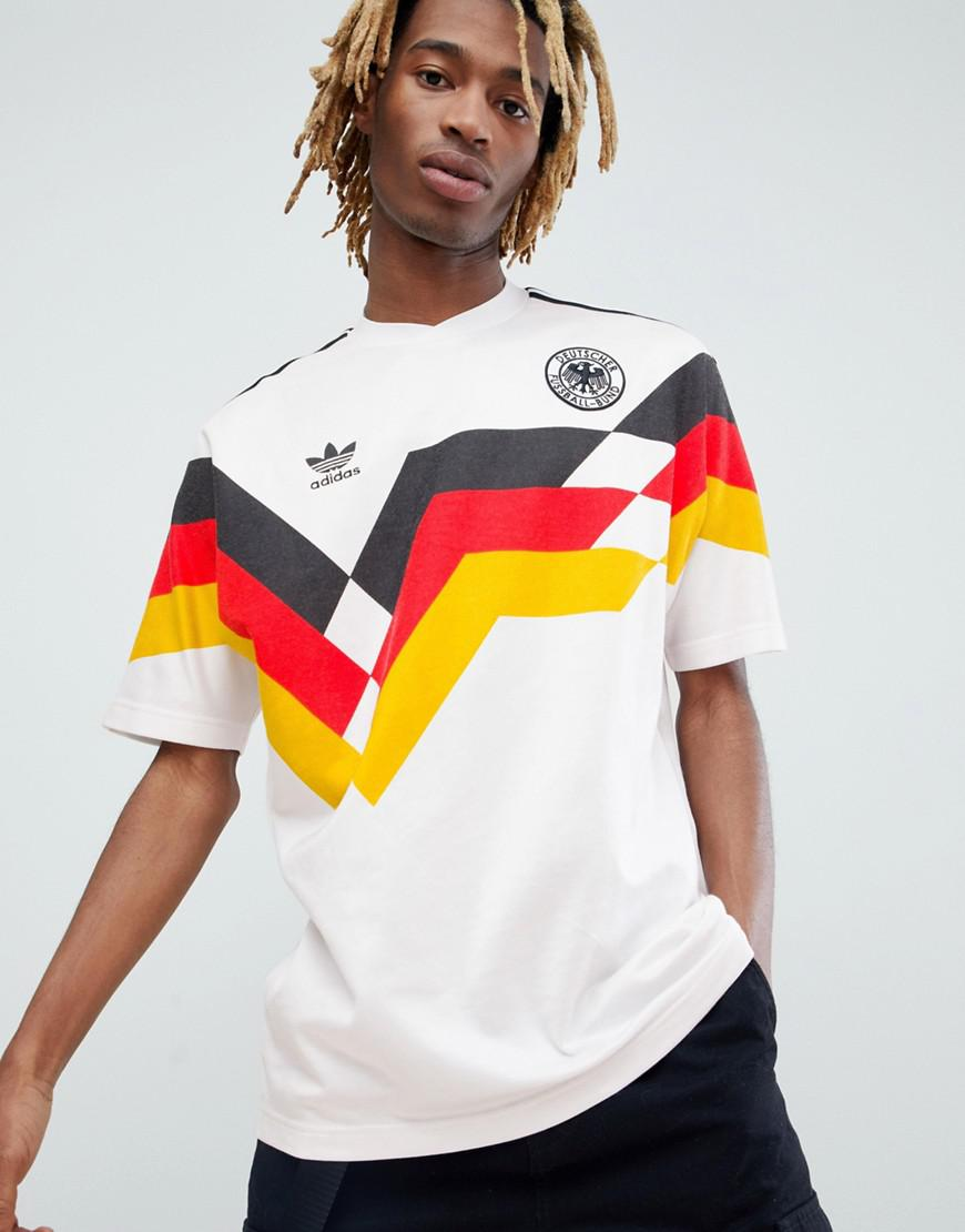 Fashion clothing   Adidas Originals Retro Germany Soccer Jersey In ...