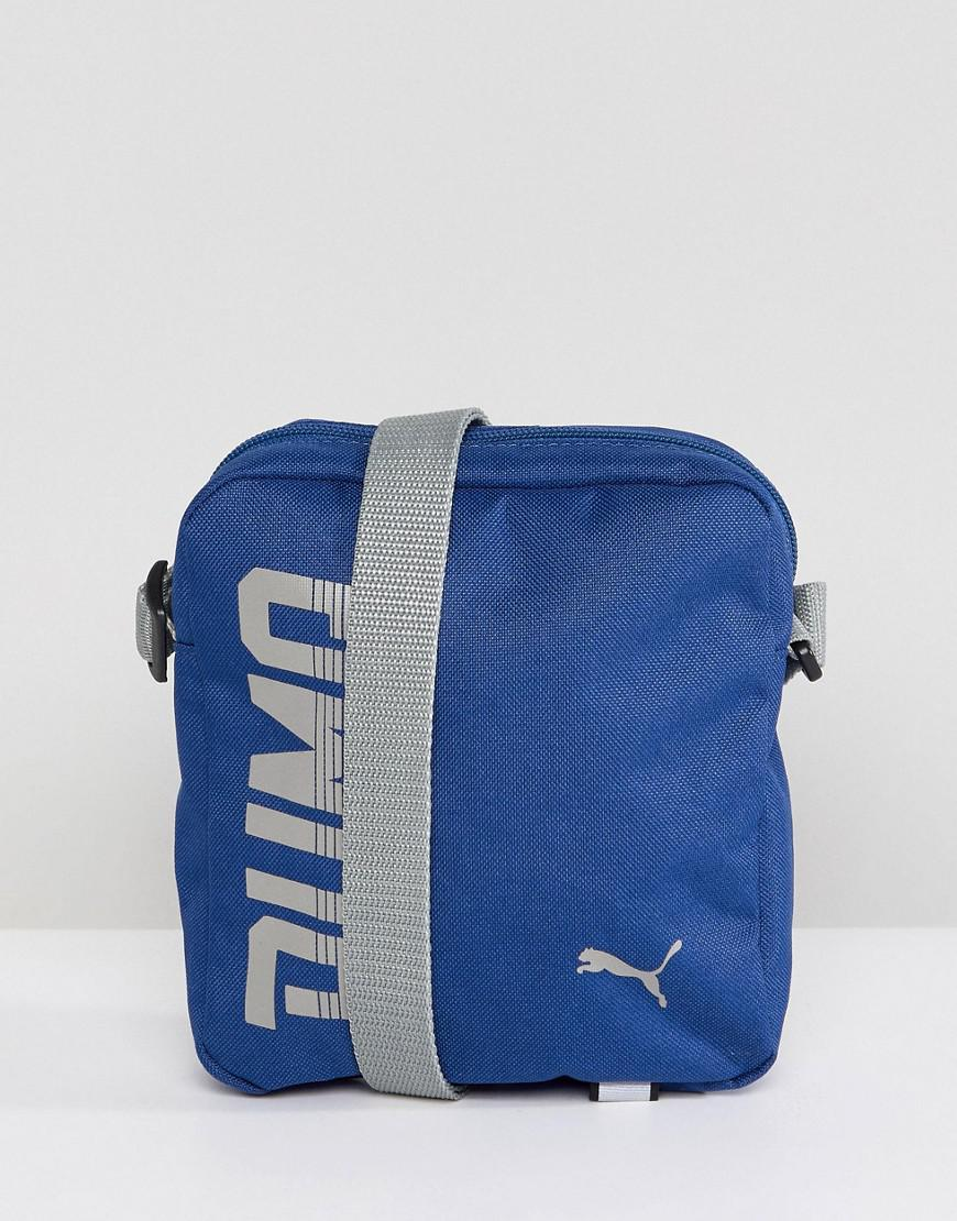 puma pioneer flight bag in blue 07471702