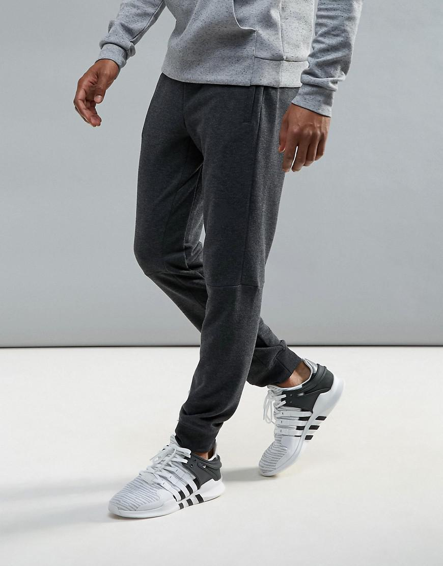 adidas training work out joggers in gray bk0945