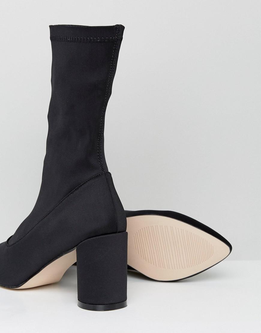 Raid Darcie Heeled Sock Boots jsv9j0Ozdp