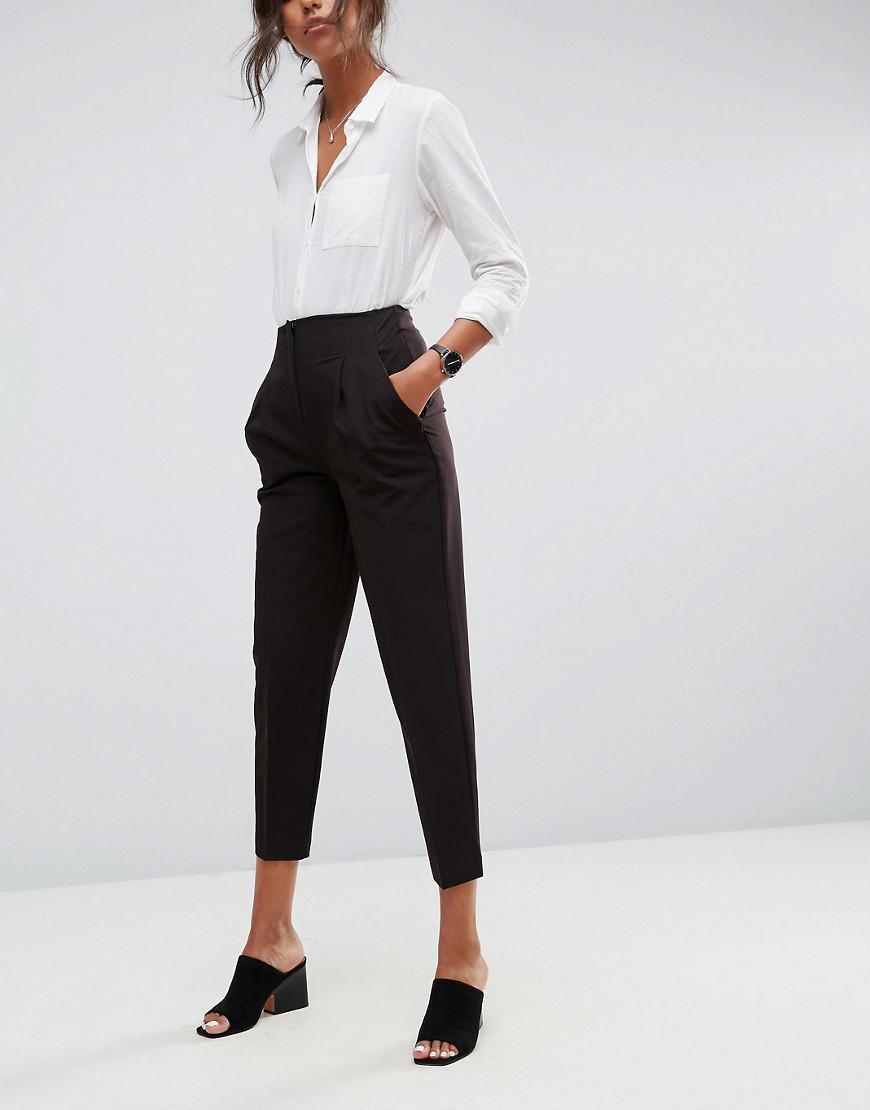 asos design mix & match highwaist cigarette pants