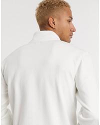 vans half zip fleece in cream exclusive at asos