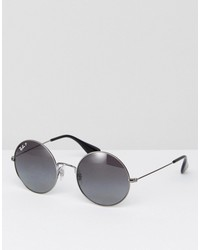 ray-ban round jajo sunglasses with polarised lens