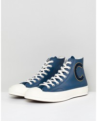 converse chuck taylor all star 70 hi sneakers in navy 159678c