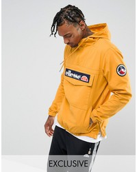 ellesse overhead jacket in yellow