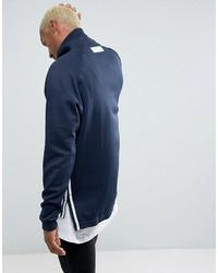 adidas originals tokyo pack nmd half zip in blue bk2217