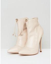 raid juliet high heeled sock boots