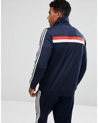 adidas originals 83-c track jacket in blue br6968