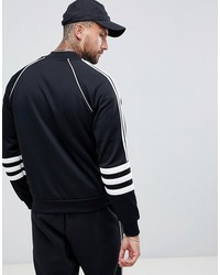 adidas originals authentic superstar track jacket in black dj2856